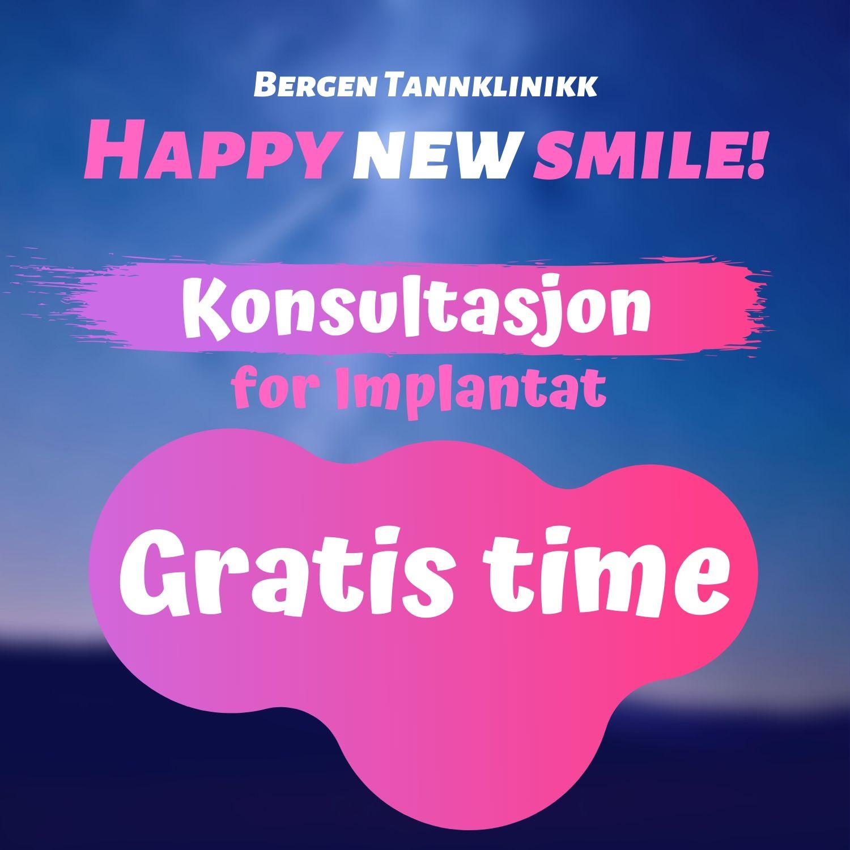 gratis konsultasjon til implantat